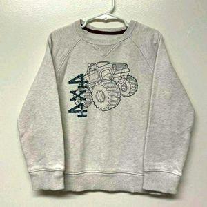3/10$ Sonoma Boys Monster Truck Sweatshirt Size 6
